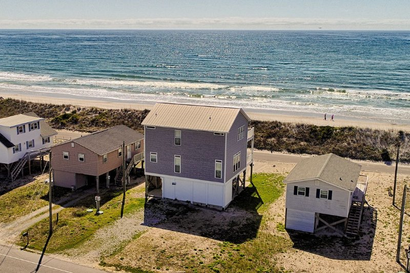 What a view  - Ocean Drive 649 Oceanview! | Internet - North Topsail Beach - rentals