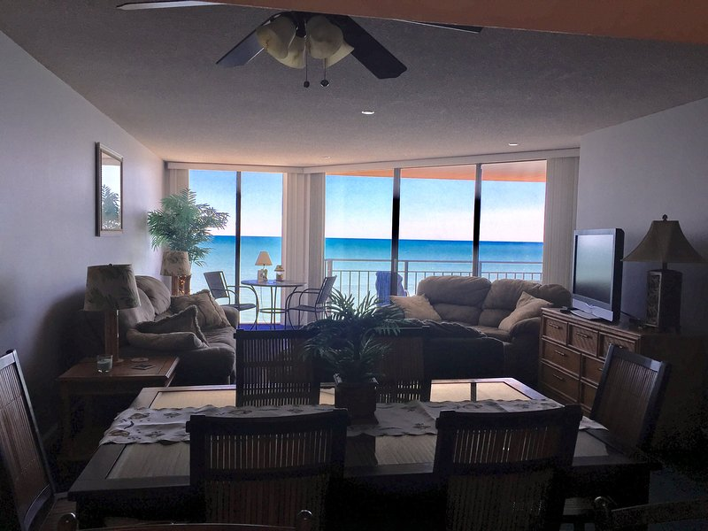 great view of the atlantic ocean from the 10th floor - Oceanfront Condo in Garden City SC  Surfmaster/2 Bedroom/2 Bath - Garden City - rentals