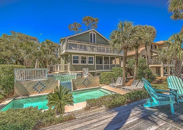 Exterior - 131 Dune Lane-OCEAN FRONT - Spring/Summer Weeks Available - Hilton Head - rentals