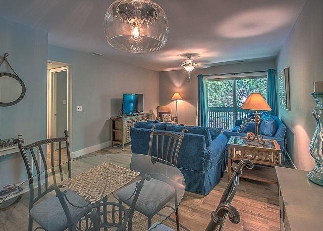 Main Area - 1691 Bluff Villa-Fully Renovated! Quick Walk to Beach & Marina - Hilton Head - rentals