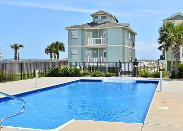 Halekai II, Beachfront House, Private Pool & Gazebo - Image 1 - Orange Beach - rentals