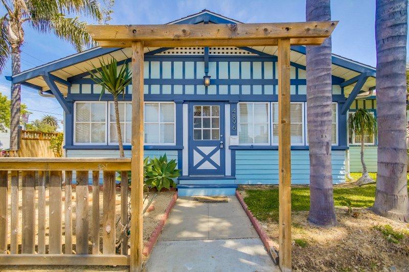 OB Beach House - walk to beach and shops - Image 1 - La Jolla - rentals