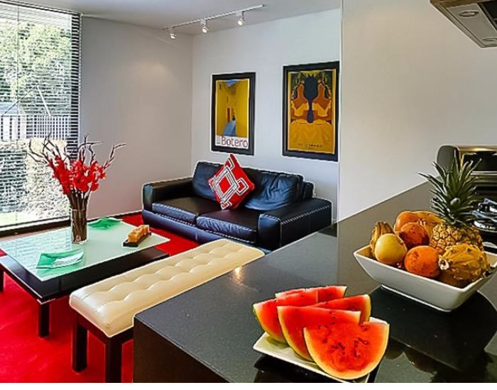 Luminous 1 Bedrooms Duplex Apartment in Santa Barbara - Image 1 - Bogota - rentals