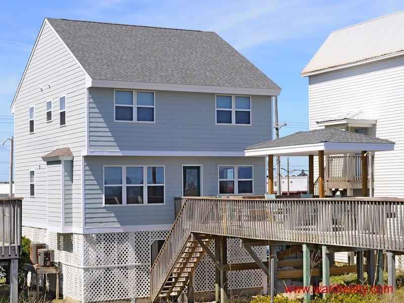 Oceanfront Exterior - Surf Side - Surf City - rentals