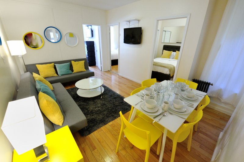 Downtown luxury 3bdr 1bath Apt! #8972 - Image 1 - Manhattan - rentals