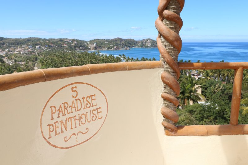 PARADISE PENTHOUSE #5 Casitas Sayulita Ocean View - Image 1 - Puerto Vallarta - rentals