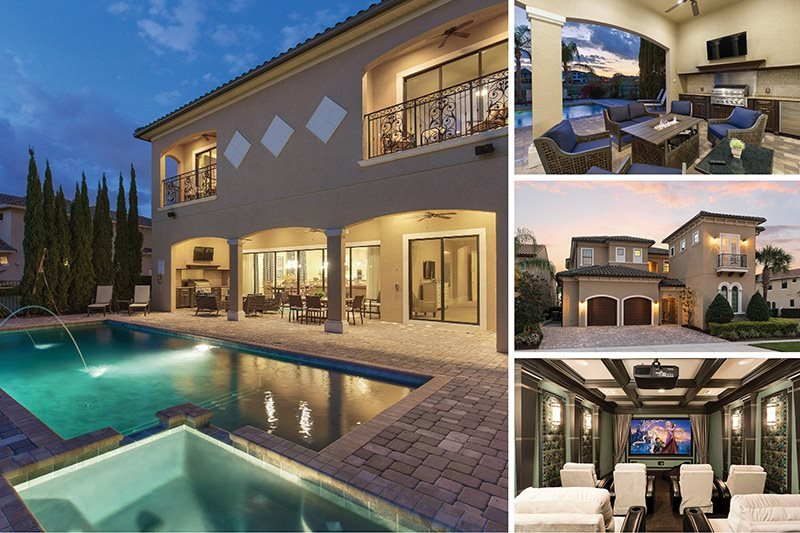 Muirfield Estate | 8,000 sq. ft. Ultimate Luxury Villa with West Facing Pool, Summer Kitchen, Theater Room, Games Room with Arcade Games - Image 1 - Kissimmee - rentals