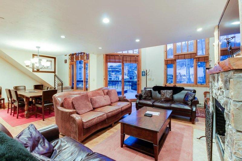 Ski-in/out condo w/private hot tub & in-home steam room/sauna! - Image 1 - Telluride - rentals
