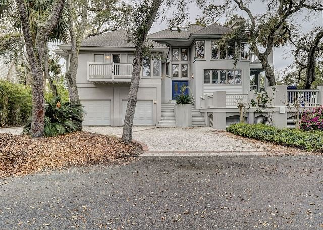 116 Dune Lane  - 4 Bedroom Oceanview Home with Private Pool just 20 yards to the Beach! - Hilton Head - rentals