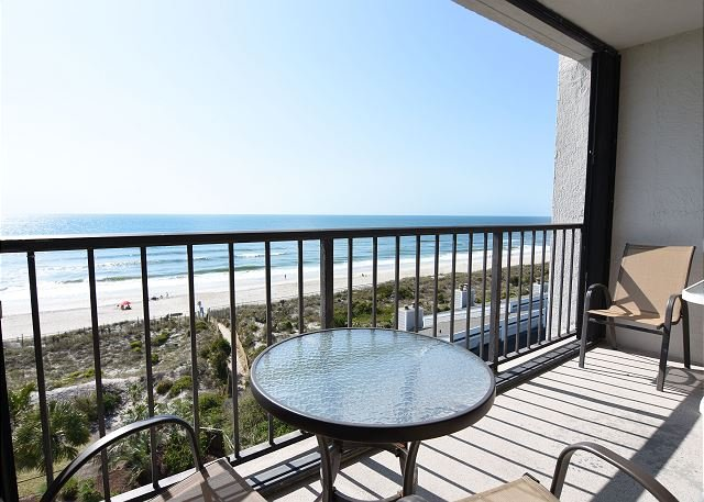 Station One 6K Oceanfront Balacony - Station One - 6K Howard - Oceanfront condo with community pool, tennis, beach - Wrightsville Beach - rentals