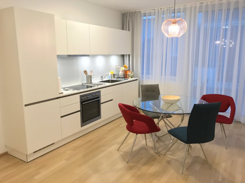 4 Bedrooms Penthouse Duplex Apartment very close to Opera and Karlskirsche #2of8 - Image 1 - Vienna - rentals
