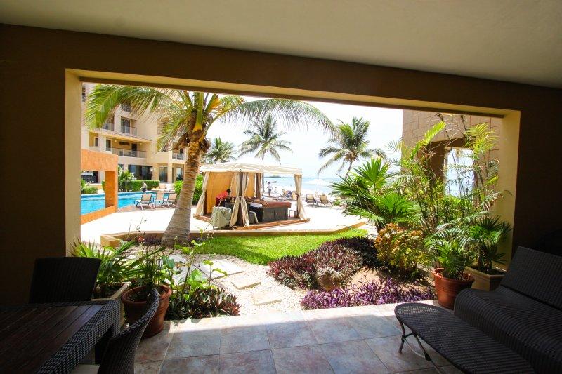 EL FARO R102 - Ocean View Beachfront Condo - Image 1 - Playa del Carmen - rentals