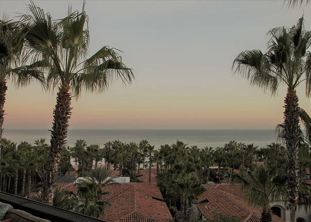 Oceano View from Terrace - Villa Las Estrellas Luxury Penthouse Ocean View Pool/Jacuzzi Esperanza - Cabo San Lucas - rentals
