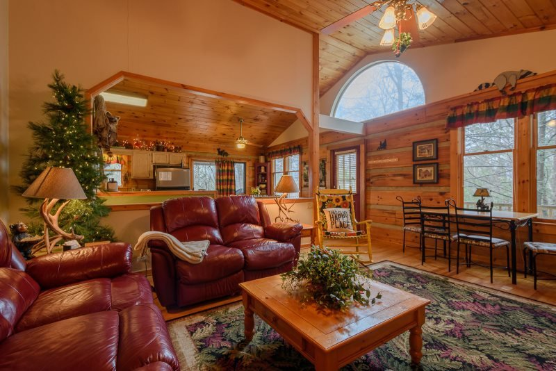 4BR Log Cabin, Hot Tub, Near Boone, Banner Elk and Grandfather Mountain, Great - Image 1 - Boone - rentals