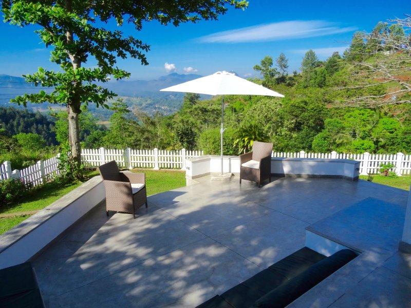 Terrace - Amandari Holiday Villa  Kandy, Sri Lanka - Kandy - rentals