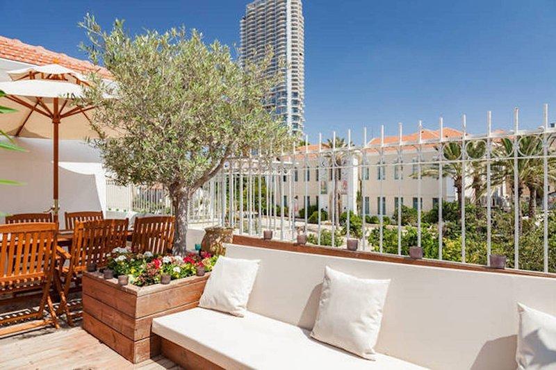 terrace - Wonderful Terrace in the heart of Neve Tsedek - Tel Aviv - rentals