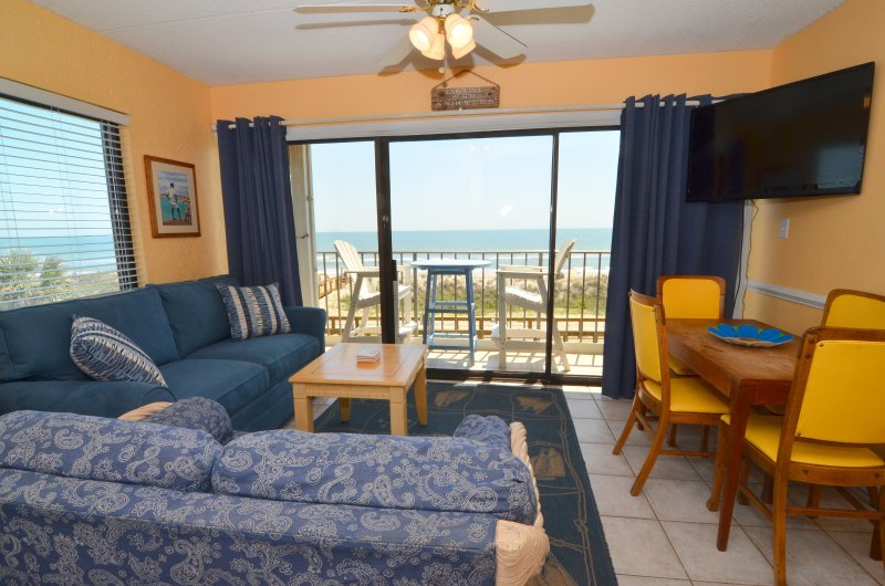Cabana 232 2 Bedroom Oceanfront W/Pool in Carolina Beach - Image 1 - Carolina Beach - rentals