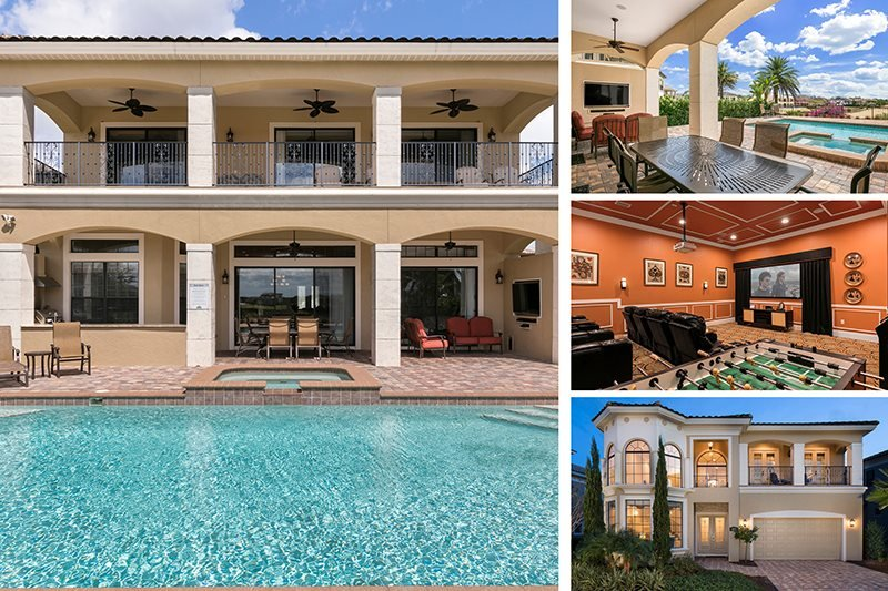 Island Dream Villa | Amazing 5,092 sq. ft Villa with Large Pool, 2 Game Rooms, Luxury Throughout - Image 1 - Kissimmee - rentals