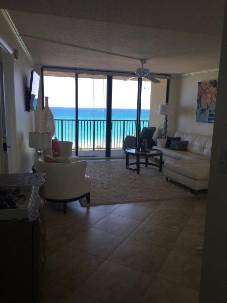 View from the front door !!! - Oceanfront, Beautiful Condo in Jupiter 30 day Min. - Jupiter - rentals