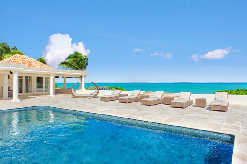 BEAU RIVAGE...well designed beachfront 3BR villa provides exceptional vistas of - Image 1 - Baie Rouge - rentals