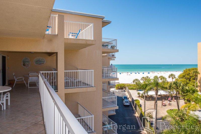 Morgan Properties - Jamaica Royale #T54 - Ocean-front 2 Bed / 2 Bath Condo - Image 1 - Siesta Key - rentals