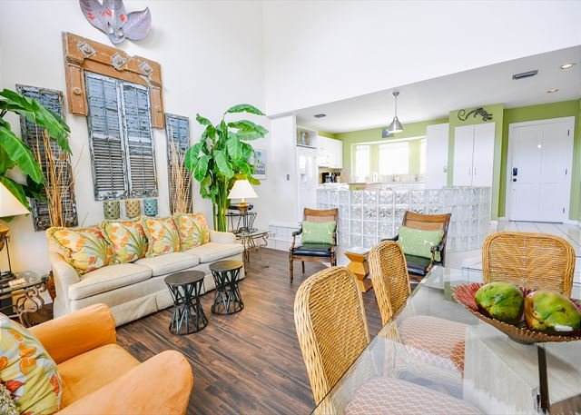 Duval Square Penthouse: A large, beautiful condo steps from the action - Image 1 - Key West - rentals