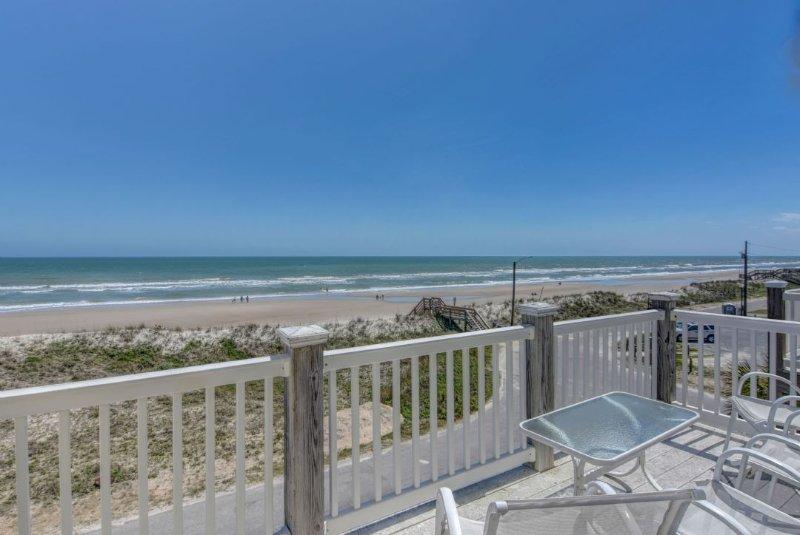 View from Top Deck - Summer Winds B - Bella Casa - Surf City - rentals