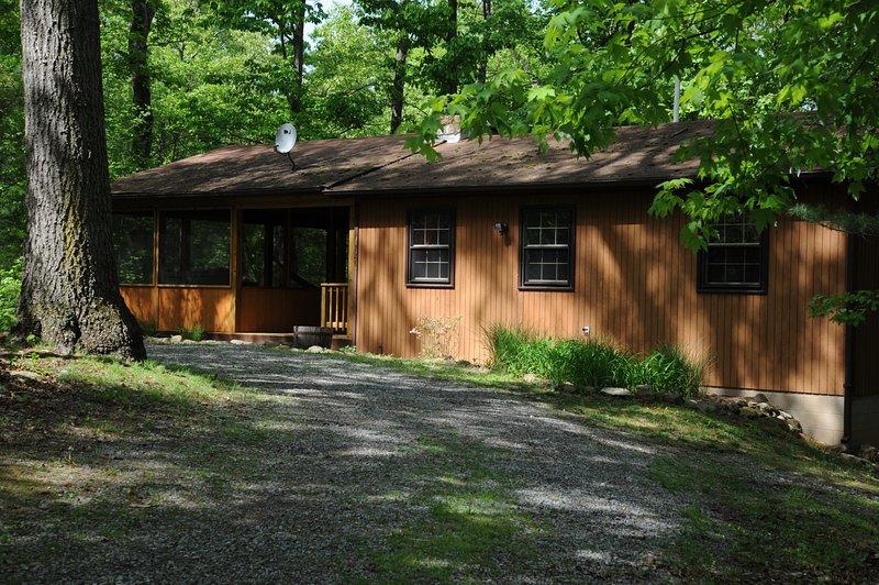 """""""Simplicity"""" Cozy Mountain Cabin w/Hot Tub - Image 1 - Rileyville - rentals"""