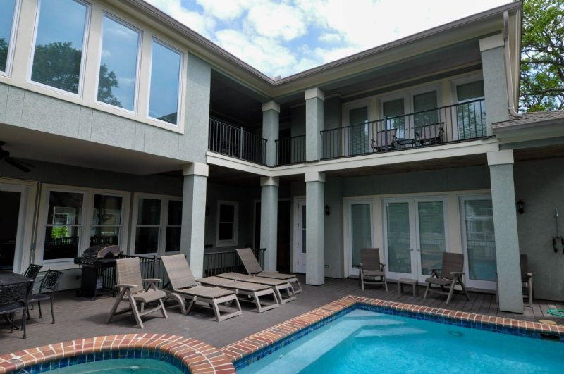 Plenty of Sun and Shade - 3rd Row Home with Private Pool and Spa Steps to the Beach - Hilton Head - rentals