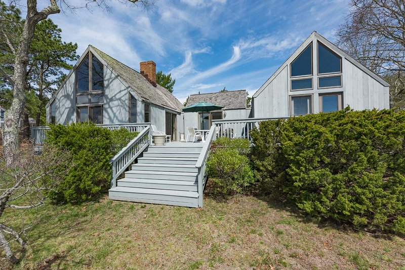 Waterview and meadow view side of house - MARSJ - Waterview Farms Summer Home, Waterviews, Peaceful, Pristine Community - Oak Bluffs - rentals