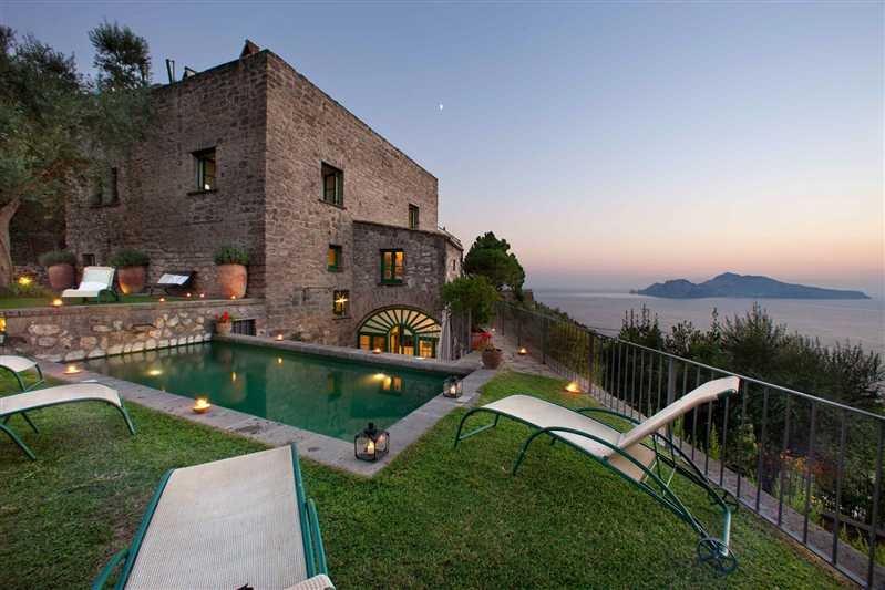 Sorrento Peninsula Villa with Spectacular Views  - Villa Dina - 9 - Image 1 - Marciano - rentals