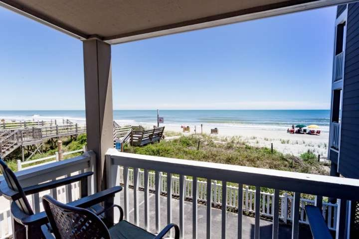 This is the view you and your family will enjoy, this isn't a model unit. - Cape Coddages II, Ocean View - Surfside Beach - rentals