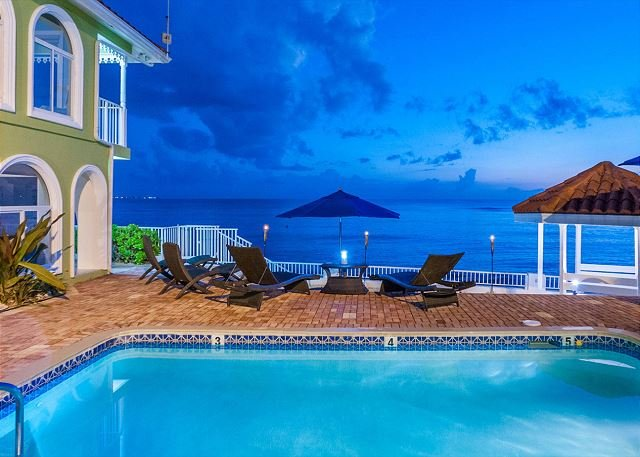 Luxury Beachfront Home on 7 Mile Beach with Pool!  5BR 'Serenity Now' - Image 1 - West Bay - rentals