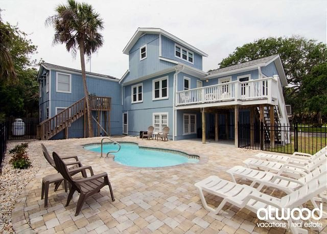 Angel Fish - Ocean Views with a Private Pool, Steps To the Beach - Image 1 - Edisto Island - rentals