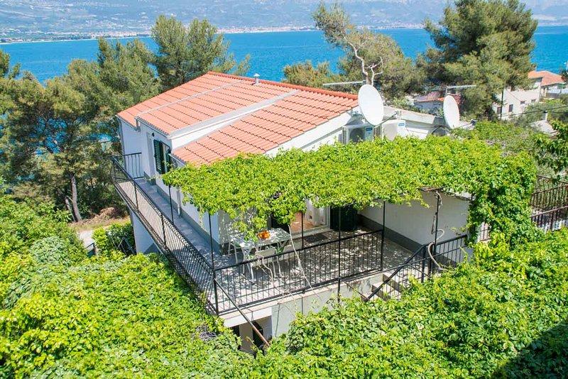 Apartment 40m from beach ,Ciovo island near Trogir - Image 1 - Arbanija - rentals