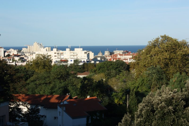 ocean view from the balcony - BIARRITZ OCEAN VIEW, Surf & Turf - Biarritz - rentals