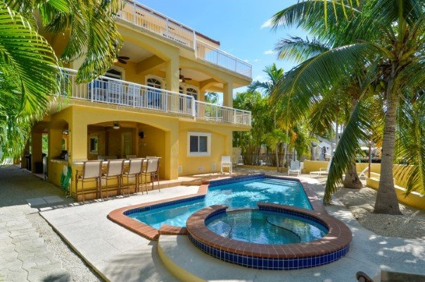 Pool & Hot Tub - TROPICAL OASIS - Key Largo - rentals