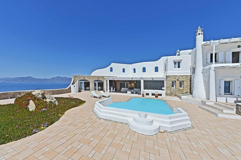 Blue Villas   Sunset   Traditional Villa with view - Image 1 - Mykonos Town - rentals