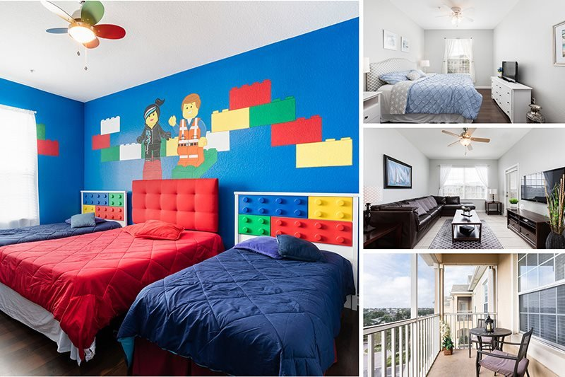 Magical Moments | Top Floor Oversized Condo Located in Bldg 5 with LEGO Themed - Image 1 - Orlando - rentals