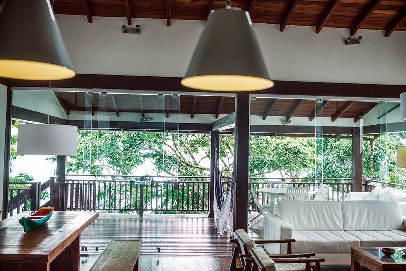 Casa Cairucu a stunning villa nr Paraty & beaches - Image 1 - Paraty - rentals