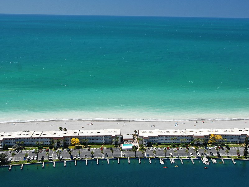 Aerial view of Fisherman's Cove at Turtle Beach on Siesta Key - Fishermans Cove Fisherman's Cove Unit 304A - Siesta Key - rentals