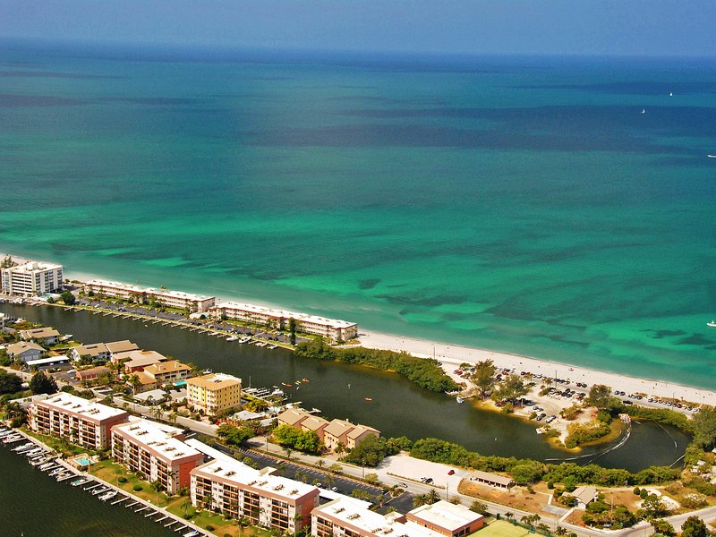 Aerial view of Fisherman's Cove at Turtle Beach on Siesta Key - Fishermans Cove Fisherman's Cove Unit 304B - Siesta Key - rentals
