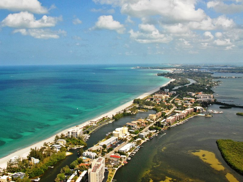 Aerial image of Fisherman's Cove Condo at Turtle Beach on Siesta Key - Fishermans Cove Fisherman's Cove Unit 212B - Siesta Key - rentals