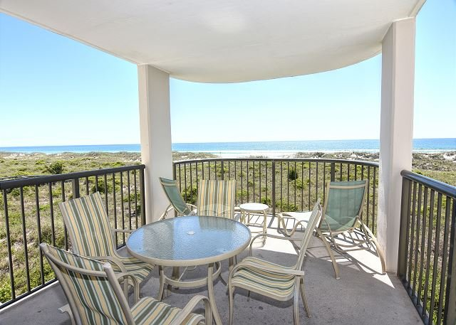 Duneridge 2211 Oceanfront Balcony - DR 2211- Simply elegant oceanfront condo with expansive views, pool and tennis - Wrightsville Beach - rentals