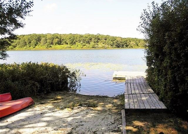 Lake Front Vacation Home on Lovers Lake in Chatham, sleeps 10! Central Air! - Image 1 - Chatham - rentals
