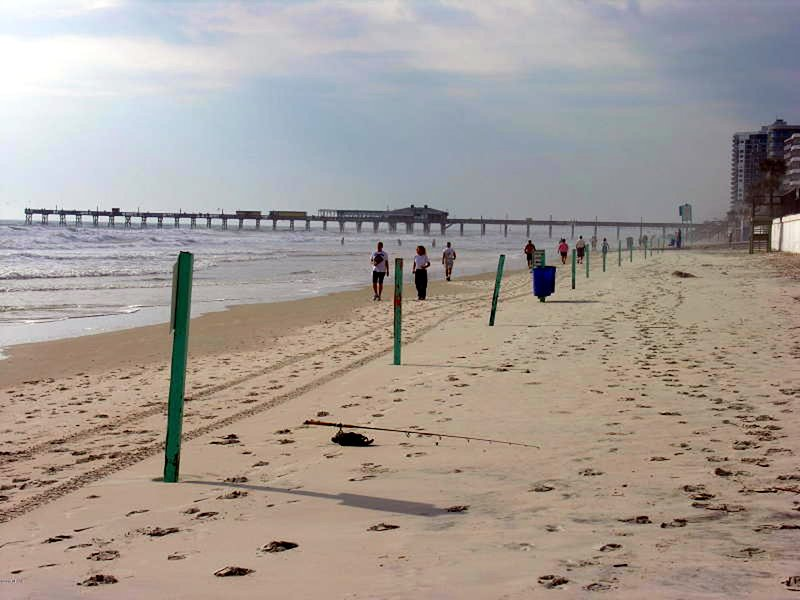 There's nothing like a walk on the beach! - Direct Oceanfront Studio Condo Vacation Rental - Daytona Beach - rentals