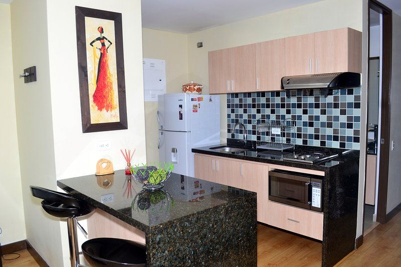 1702 - Studio with great view - Perfect location! - Image 1 - Medellin - rentals