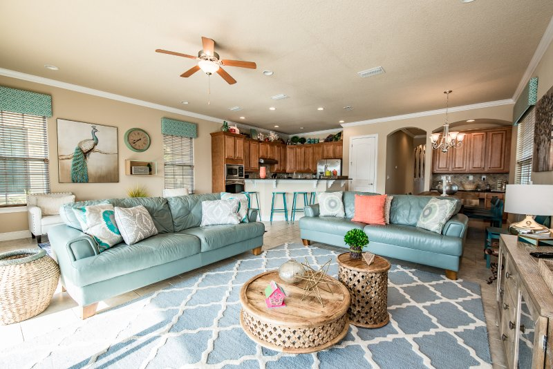 Beautiful 5 Bed Reunion Resort Pool Home From 253nt - Image 1 - Orlando - rentals