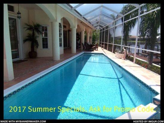 Villa Lady Jane - SE Cape Coral, 3b/2ba Pool Home, Gulf Access, Electric and - Image 1 - Cape Coral - rentals