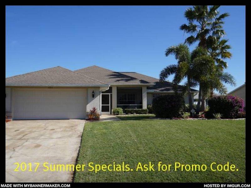 Villa Jenny - Cape Coral 3b/2ba home w/electric heated pool/spa, HSW Internet, - Image 1 - Cape Coral - rentals